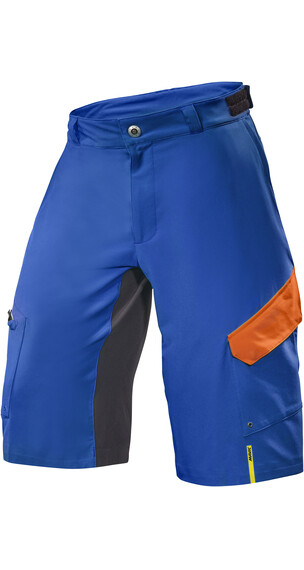 Mavic Crossmax Pro Spodnie rowerowe Mężczyźni niebieski